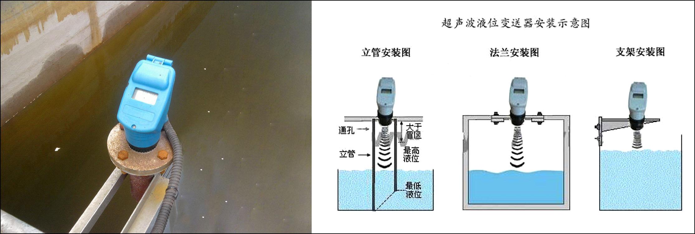 超声波液位计安装